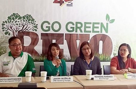 NCCC's GO GREEN REVO 2019: Hoping For A Sustainable Future