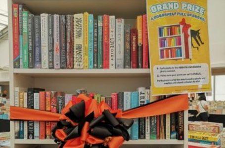 Big Bad Wolf 2019 Loves Davao BookShelf Full of Books Grand Prize