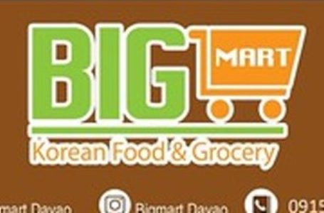 Davao City Jobs: Big Mart Korean Food & Grocery Hiring Cashier / Sales Crew