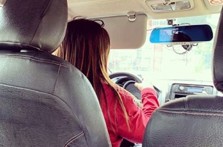 Davao Life Photo: Lady Taxi Driver on International Women's Day 2020