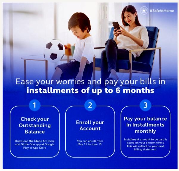 Globe Telecom Postpaid Installment payment
