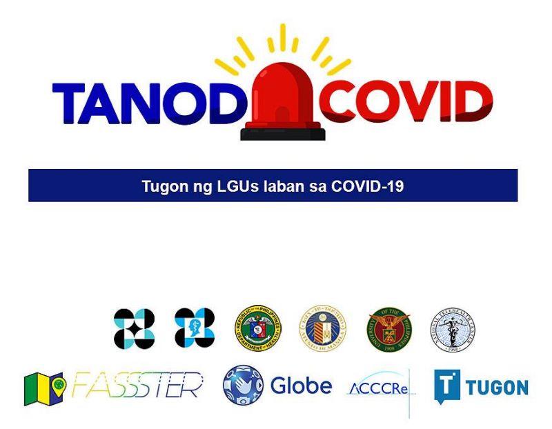 TanodCOVID SMS Symptom Reporting Service