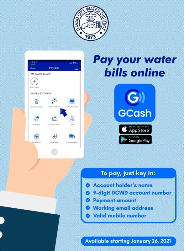 GCASH_DCWD_Bills_online